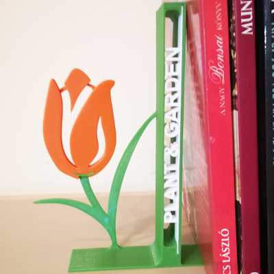 Flower Bookend - Custom 3D printed product