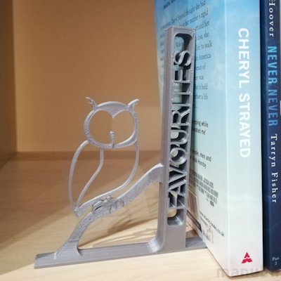 Owl Bookend - 3D printed