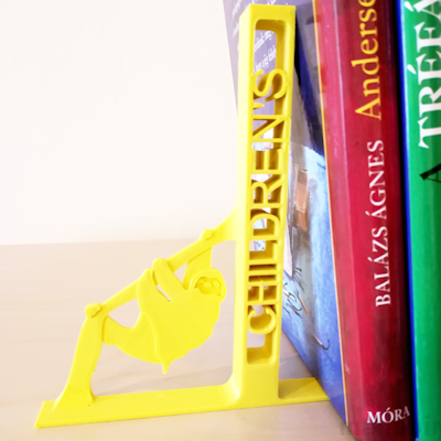 Sloth Bookend - 3D printed