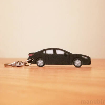 3D Printed Car Key Ring - Mazda 6