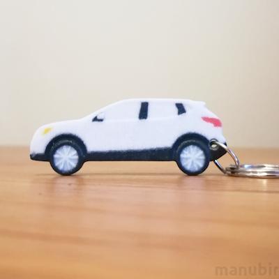 Egyedi kulcstartó - Nissan Qashqai