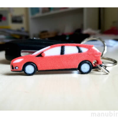 Ford Focus Keychain