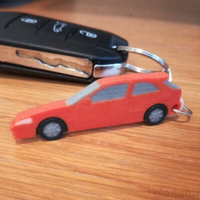 Honda Civic Keychain