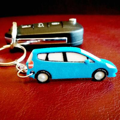 Honda Jazz Keychain