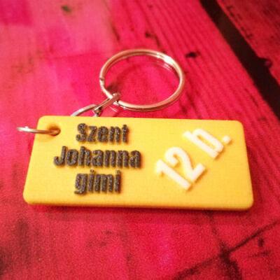 Szent Johanna gimis kulcstartó