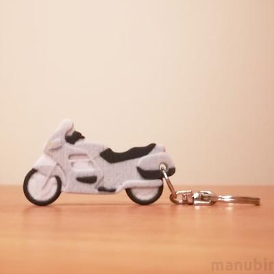 Honda St Pan 3D Printed Keychain