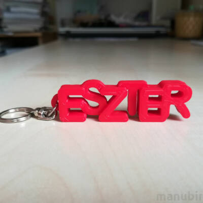 Name Keychains