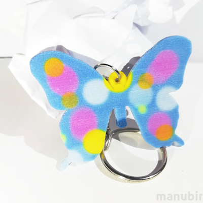 Butterfly Shaped Keychain