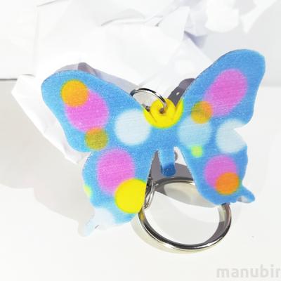 Pillangós kulcstartó