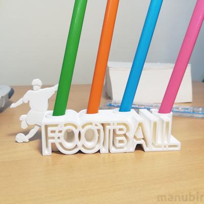 Football Pencil Holder - 3D printed