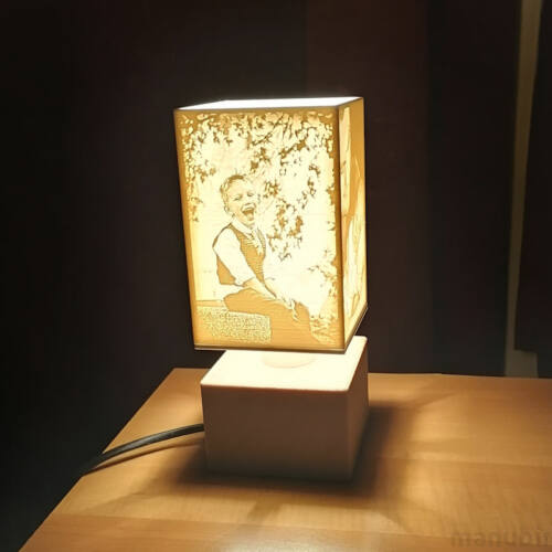 3D Photo Lamp - Lithophane