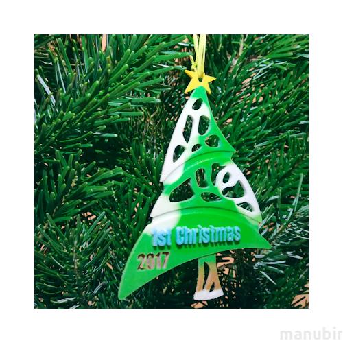 3d printed christmas tree decoration creative gift diy
