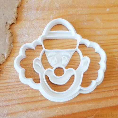 Clown Face Cookie Cutter - 3D printed