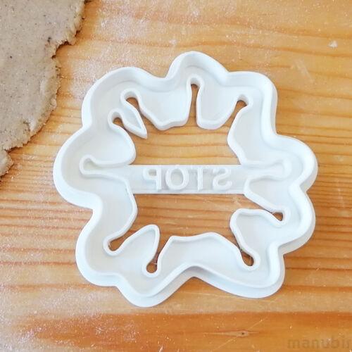 Stop Virus Cookie Cutter - 3D printed