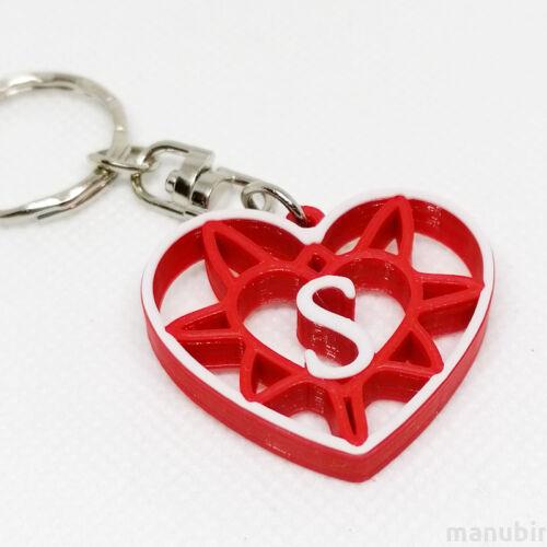 Custom 3D Printed Gift - Heart Shaped Keychain