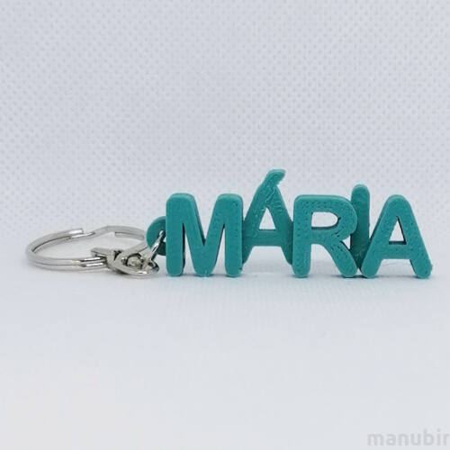 Betűs kulcstartó - Mária