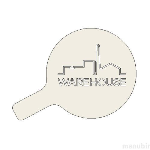 Custom Cappuccino Stencil - Warehouse