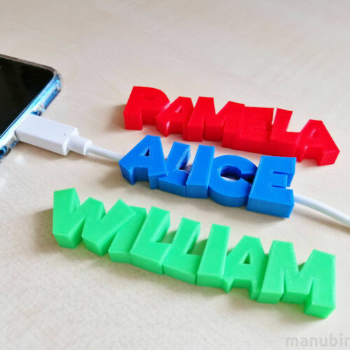 Personalized Name USB Cable